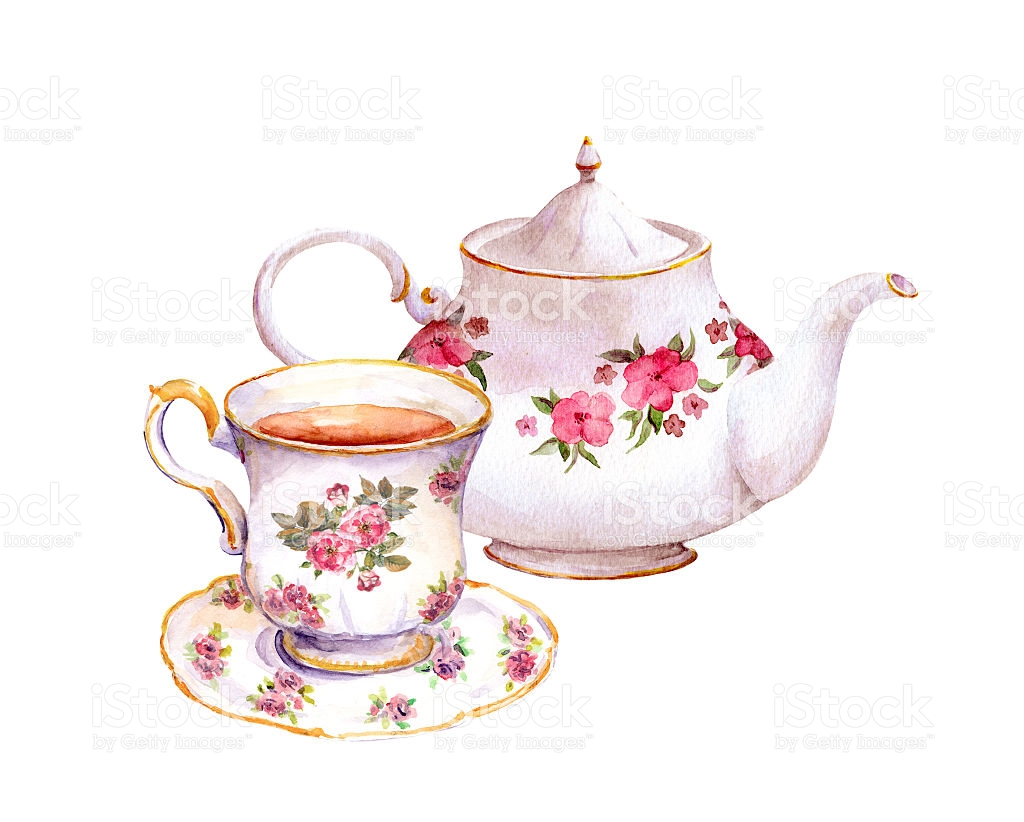 Teacup And Teapot Clipart.