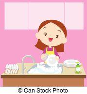 Dish washing Stock Illustration Images. 1,874 Dish washing.