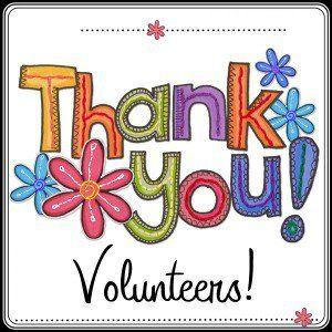 Thank You Volunteers Clip Art.