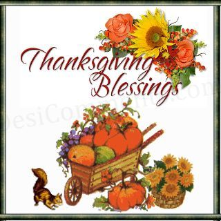 Thanksgiving blessings clipart pictures free 2.