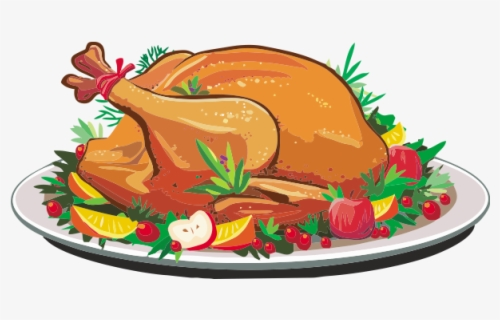 Free Thanksgiving Dinner Clip Art with No Background.