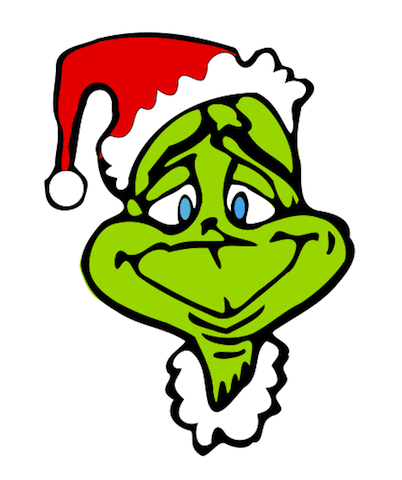1600 The Grinch free clipart.