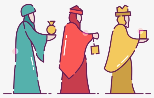 Free Wise Men Clip Art with No Background.