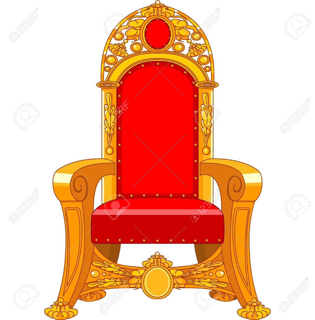 Throne Chair Clipart.