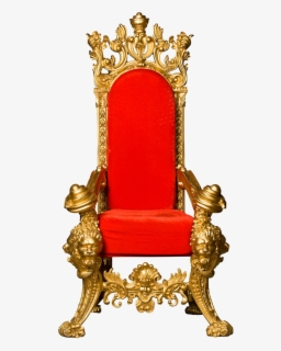 Free King On Throne Clip Art with No Background.