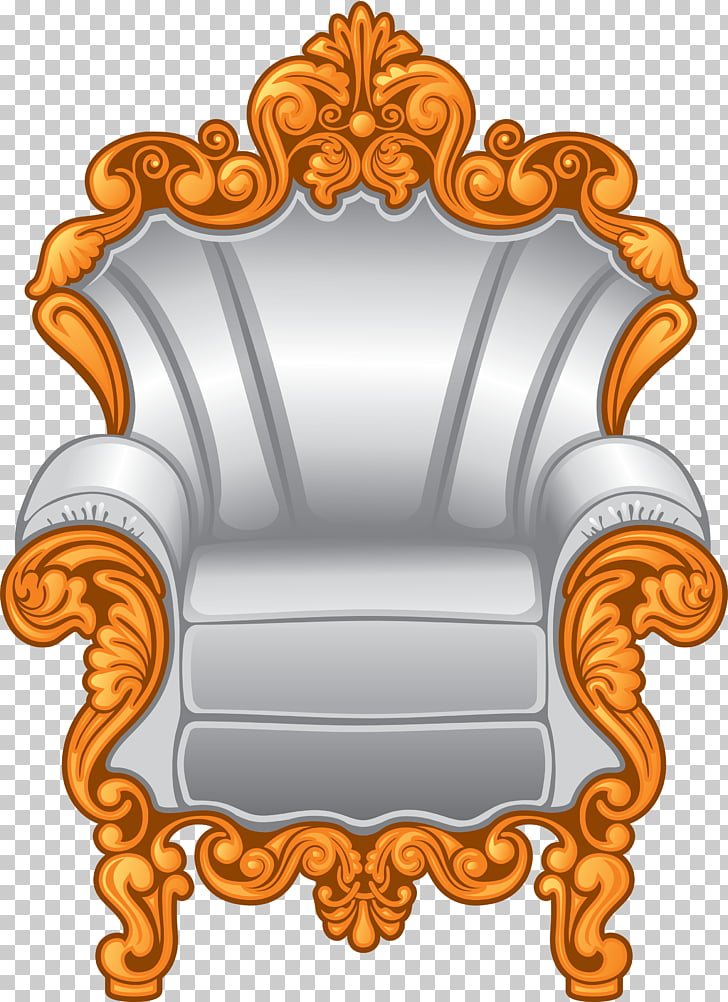 Throne Crown Stock illustration , Armchair PNG clipart.