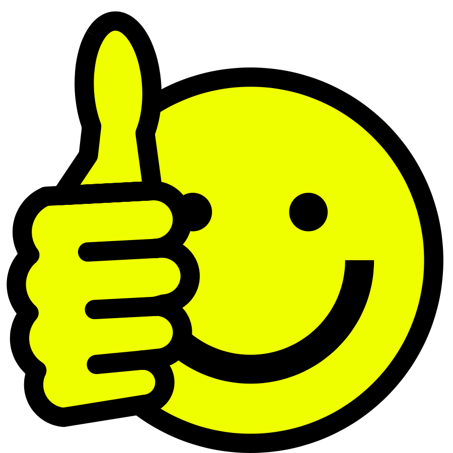 Thumbs Up Free Clipart.