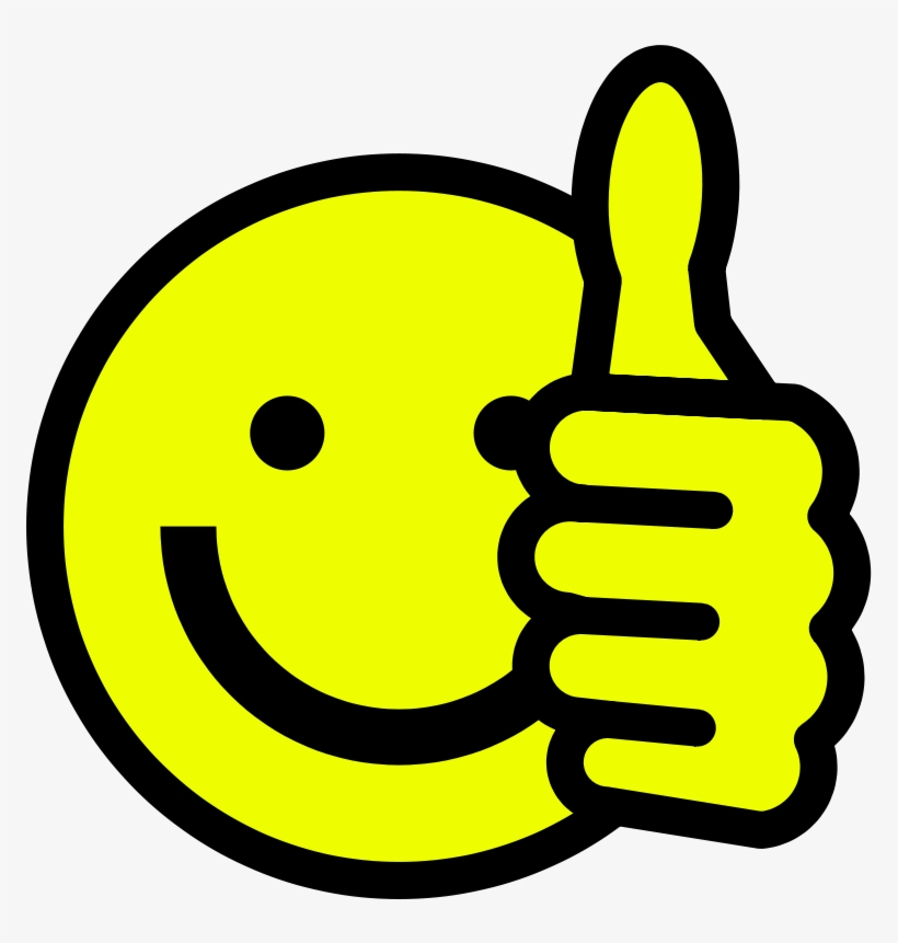 Smiley Face Clip Art Thumbs Up Free Clipart Images.
