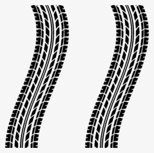 Tire Tracks PNG Images.
