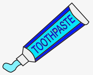 Free Toothpaste Clip Art with No Background.