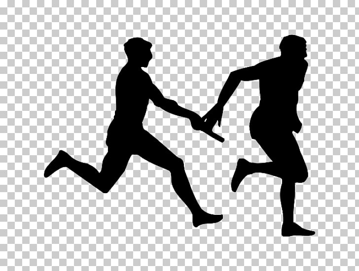 Track & Field Sport Silhouette , Silhouette PNG clipart.