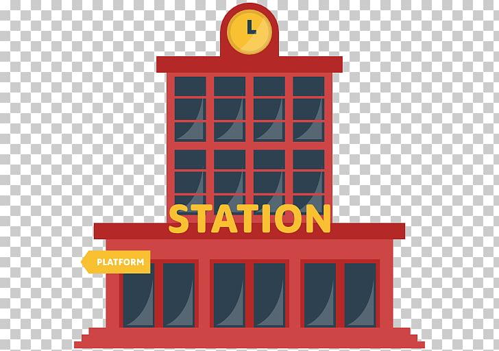 Rail transport Train station, public transport PNG clipart.