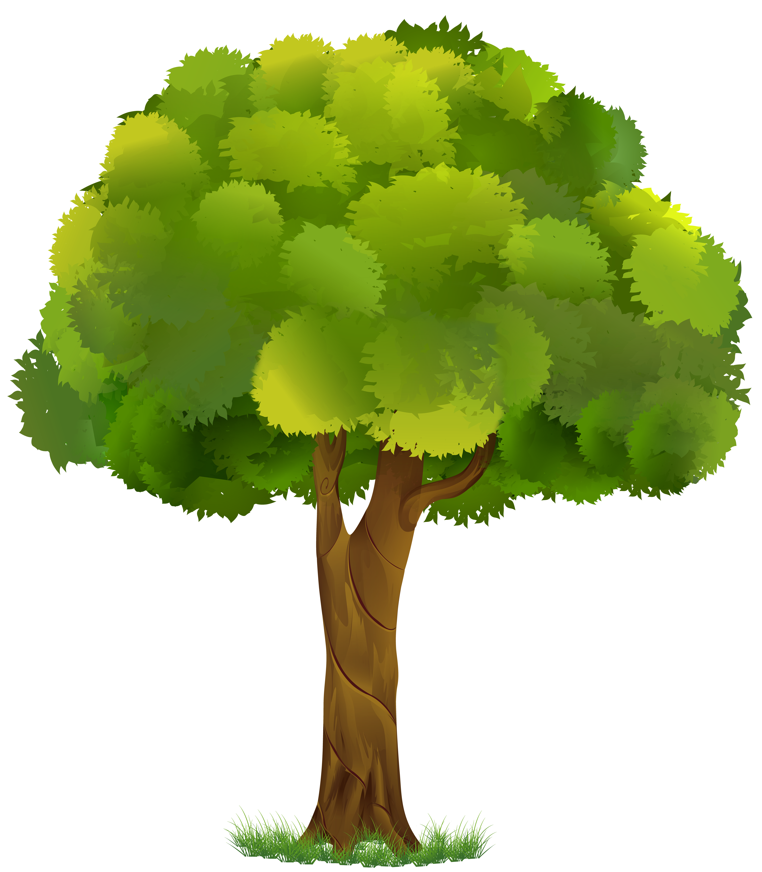 Tree Transparent Clip Art Image.