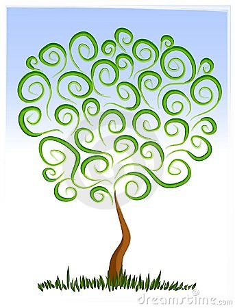 Free Clipart Of Tree Growing.