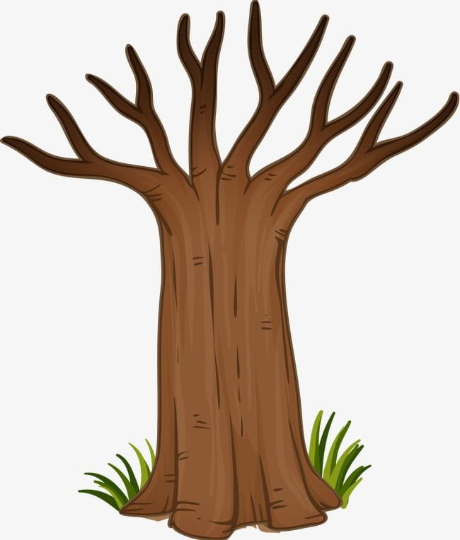 free clipart tree trunk #4