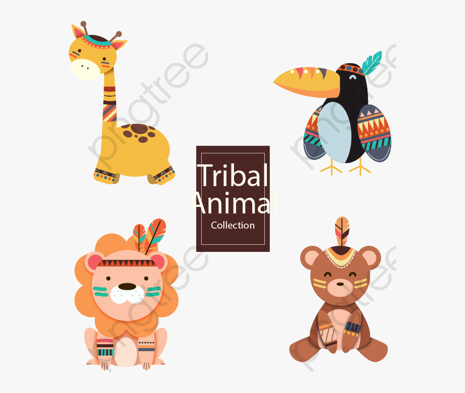 Fox Clipart Tribal.