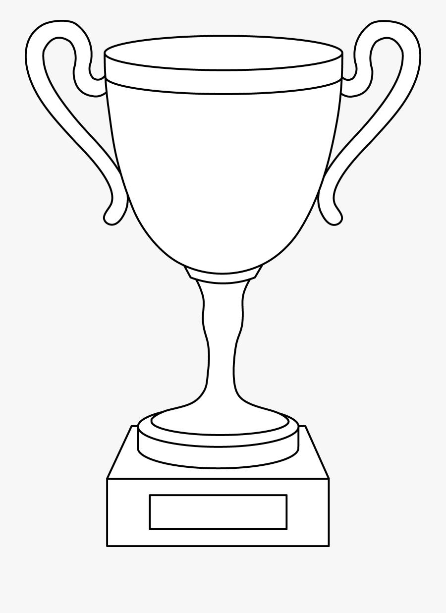 Trophy Cup Line Art Free Clip Art.