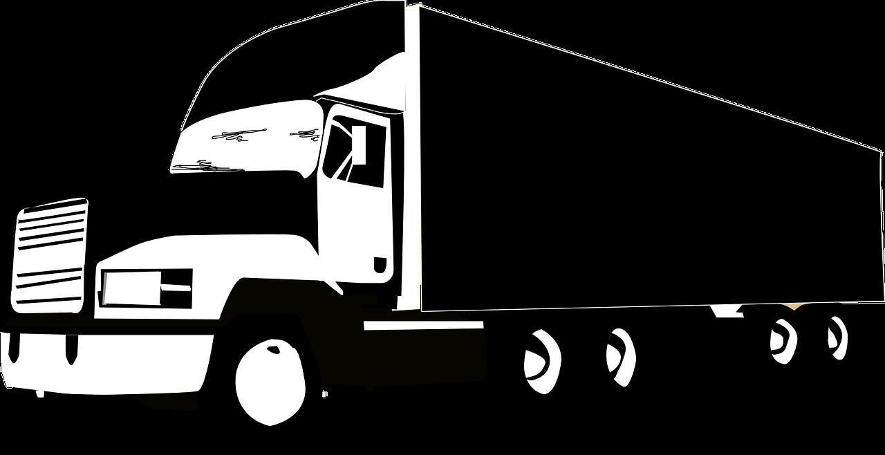 Pickup truck Semi.