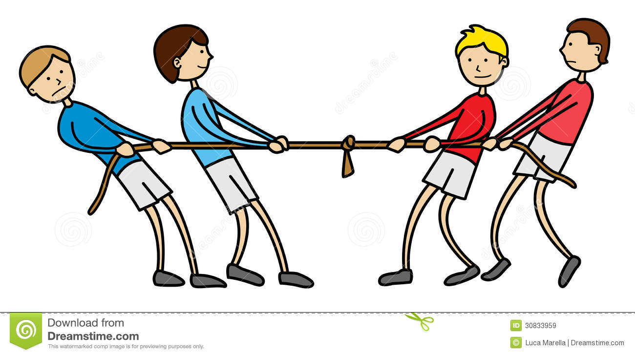 Free clipart tug of war 6 » Clipart Station.