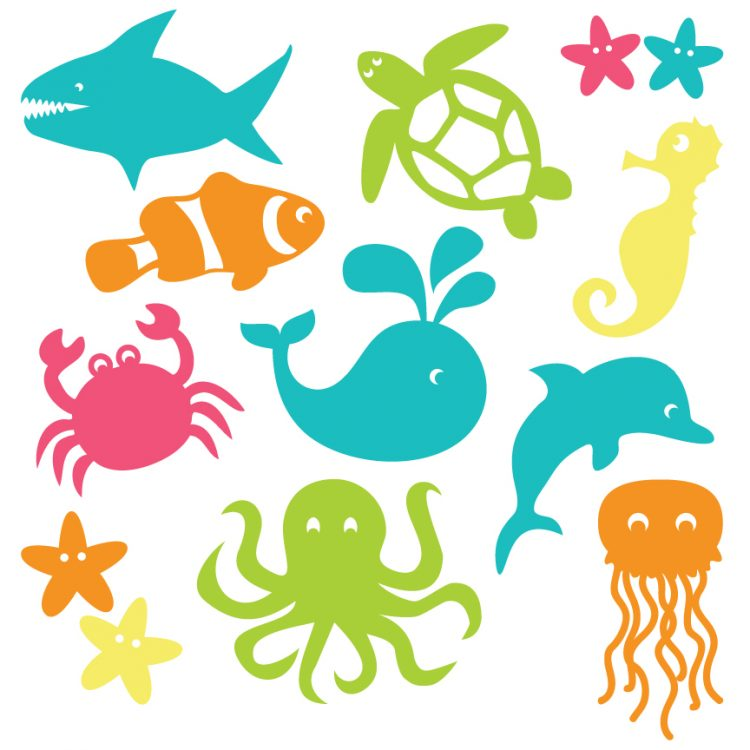 Under The Sea Free Clipart.