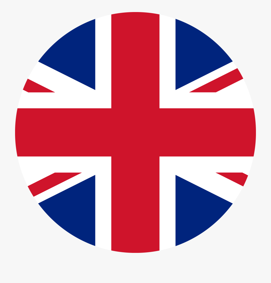 Union Jack Flag Circle , Free Transparent Clipart.