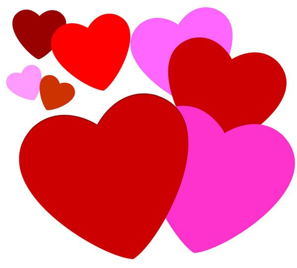 Clipart Love Heart.