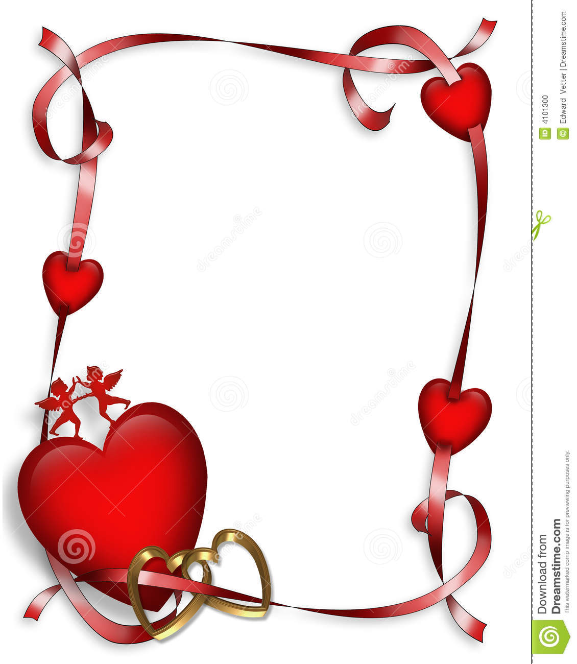 Free clipart valentines day border 1 » Clipart Station.