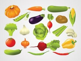 Free Vegetable Cliparts in AI, SVG, EPS or PSD.