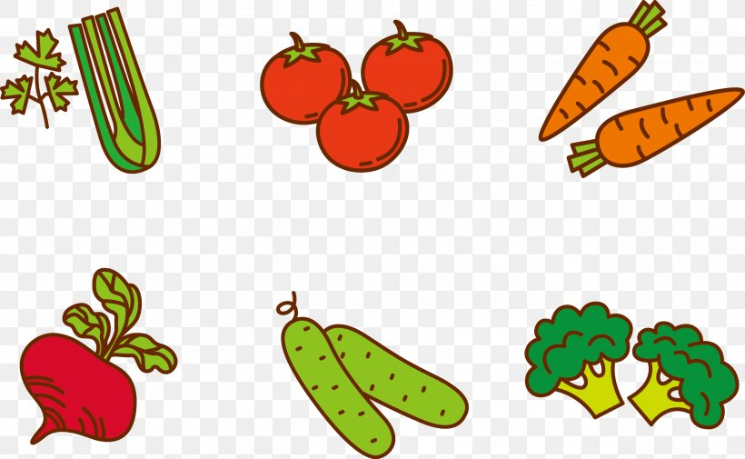 Fruit Vegetable Cartoon Clip Art, PNG, 2507x1547px, Fruit.