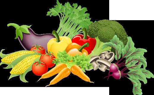 Clipart vegetables healthy living, Clipart vegetables.
