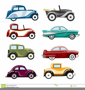 Clipart Vintage Cars.
