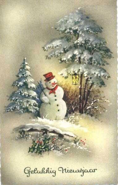 Vintage SnowMan.