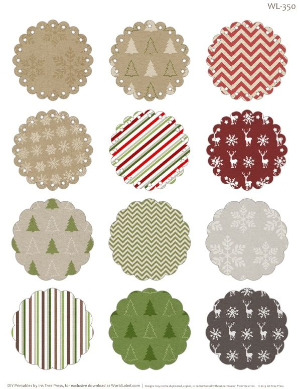 17 Best ideas about Christmas Labels on Pinterest.