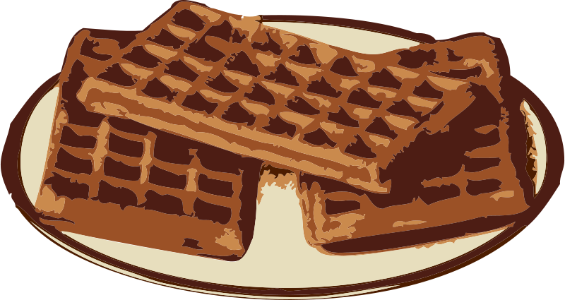 Free Clipart: Waffles.