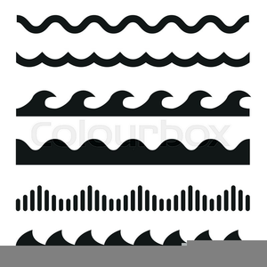 Free Clipart Wave Border.