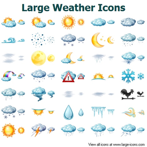 67 Awesome free weather chart clipart.