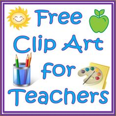 271 Best Free Teaching Clip Art images in 2019.