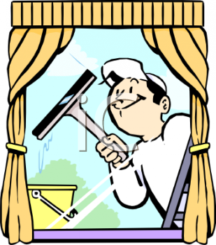 Window Cleaning Clipart.