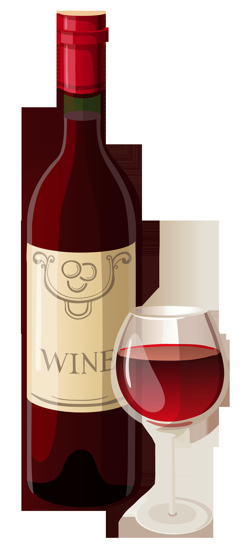 729 Wine Bottle free clipart.