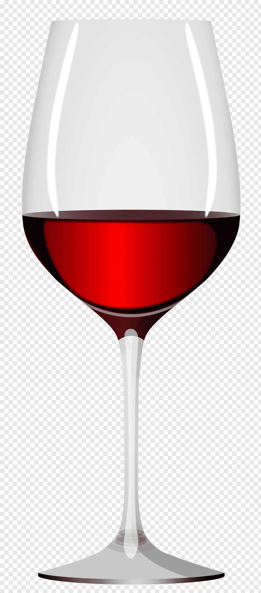 Red filled wine glass illustration, Red Wine Champagne Wine.