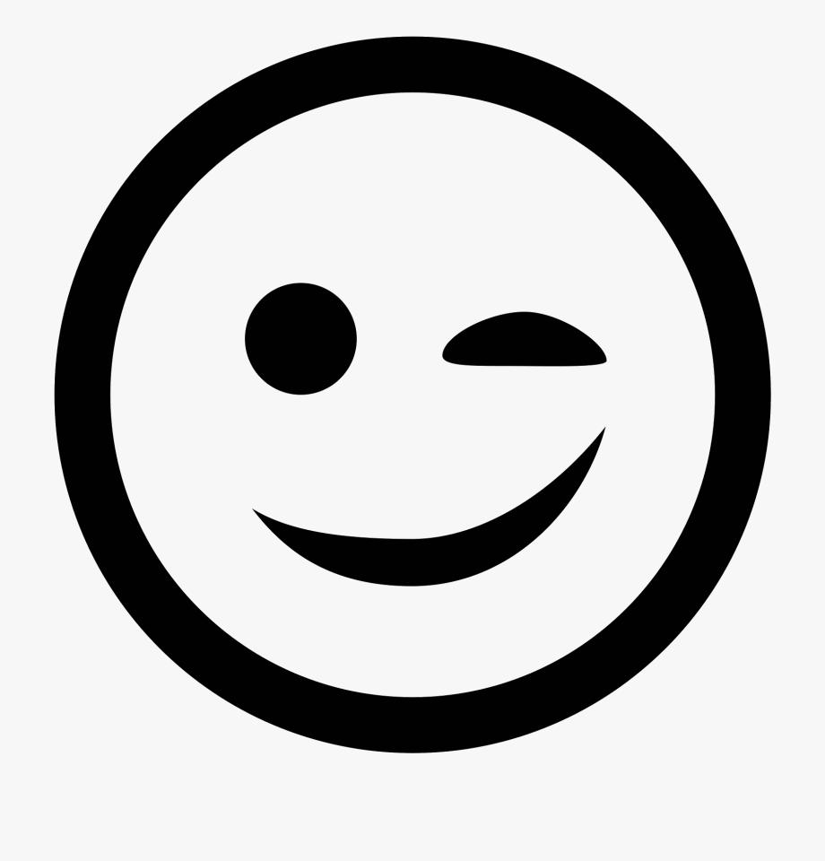 Winking Emoji Png.