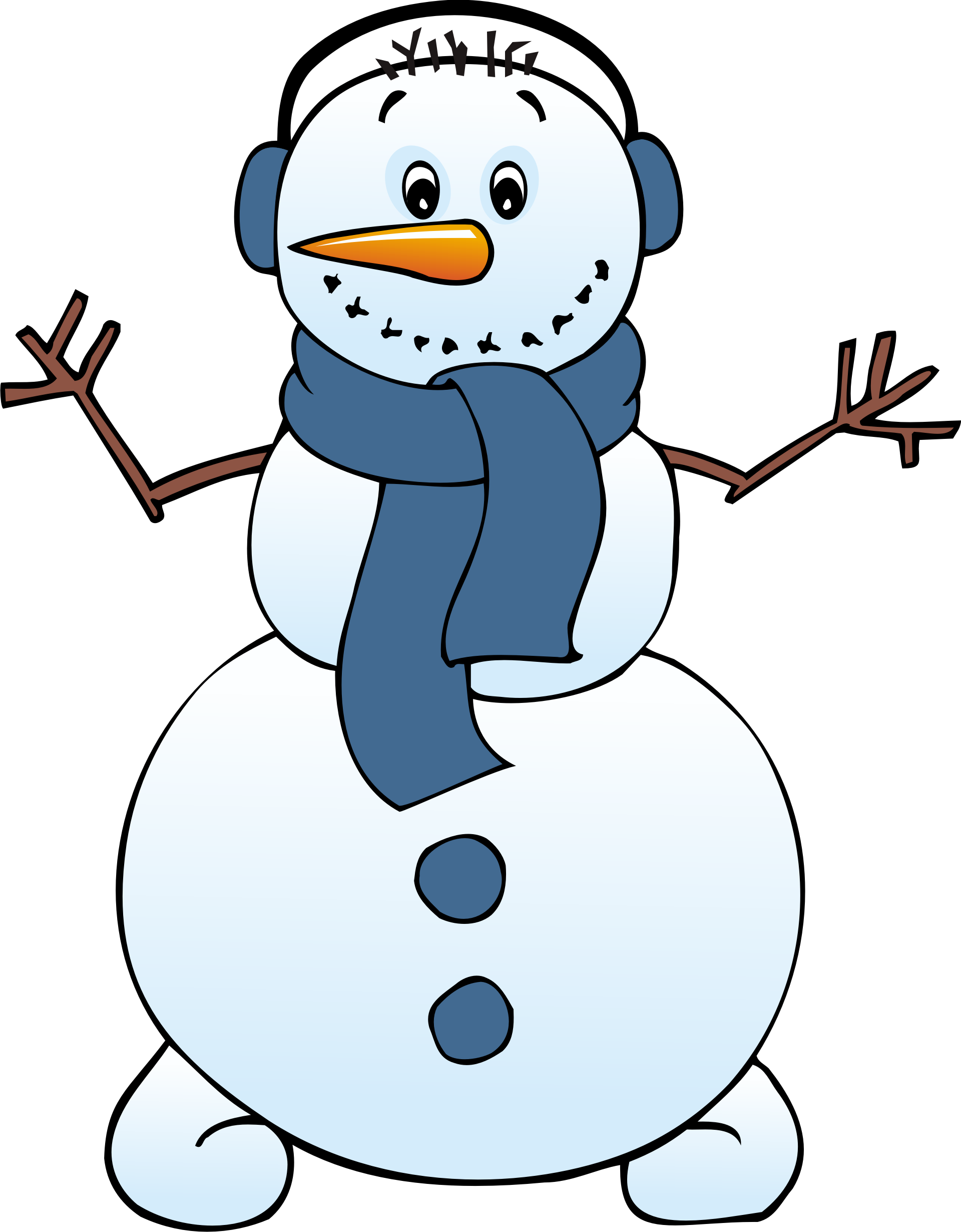 Free clipart winter image.