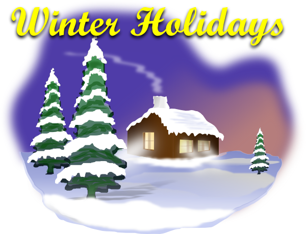 Clipart Winter Holiday.
