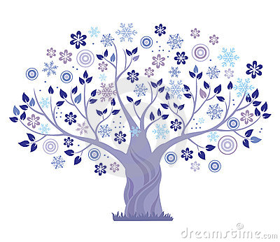 Winter Tree Clipart Free.