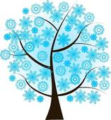 Winter Trees Clipart.