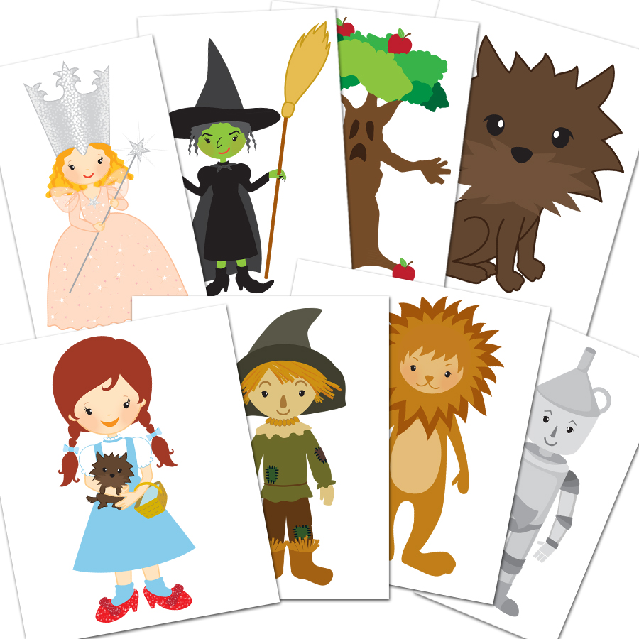 1190 Wizard Of Oz free clipart.