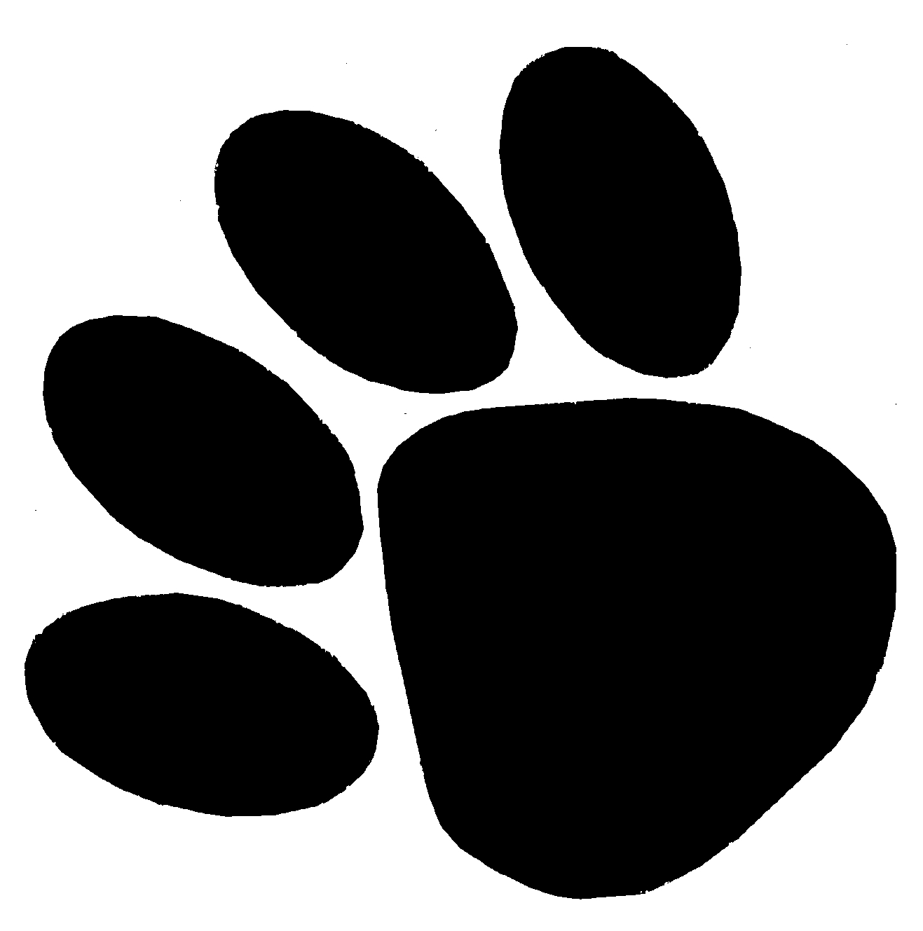 Wolverine Paw Print Clipart#2237774.