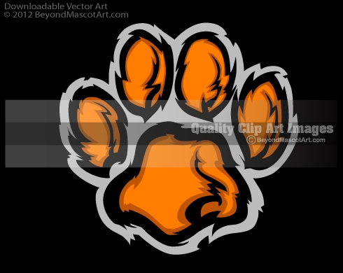 Wolverine Paw Print Clipart#2237775.