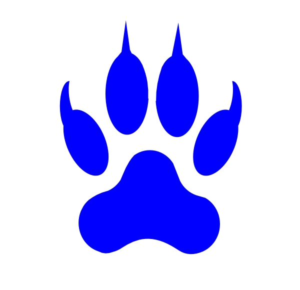 Wolverine Paw Print Clipart#2237778.