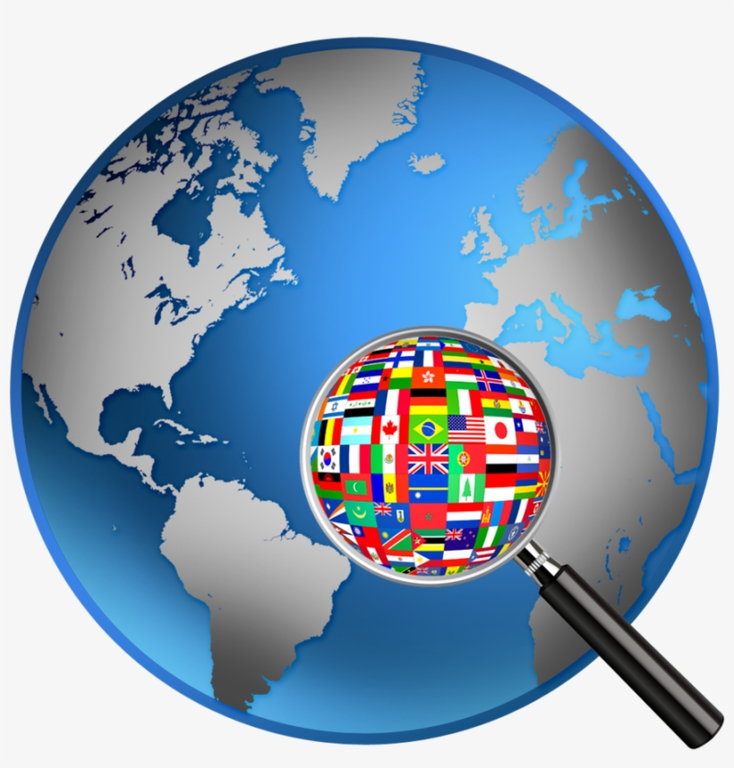 World Flags Clipart World Map Globe.